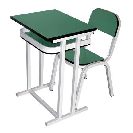 Carpeta unipersonal mesa tavoli y silla star muebles classic for Mobiliario comedor escolar